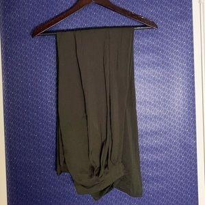 Zara Flowy Wide-Legged Trousers - Color Sage 🍃